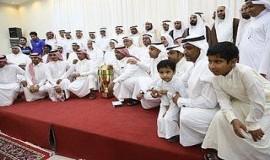 برعاية العلامة السيد ابي عدنان نادي التاج بالمطيرفي يكرم الداعمين واللاعبين وسط حضور مميز