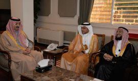 محافظ الأحساء يستقبل مدير عام فرع هيئة الهلال الأحمر السعودي بالمنطقة الشرقية