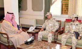 محافظ الأحساء يستقبل قائد لواء الملك عبدالله الآلي بالحرس الوطني المكلف