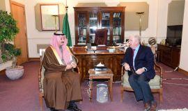 سمو محافظ الأحساء يستقبل سفير الولايات المتحدة الأمريكية لدى المملكة