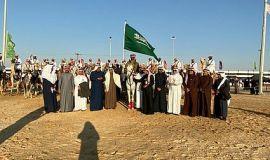 هيئة صحفيي الأحساء تعيش في صحراء سفاري بقيق