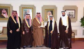 محافظ الاحساء يستقبل رئيس المؤسسة العامة للري