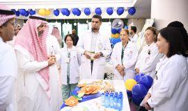 مستشفي الملك عبدالعزيز بالحرس الوطني بالأحساء يحتفي بيوم ذوي الإعاقة