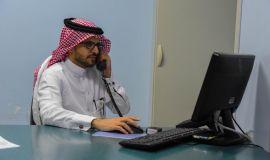 """6143 مستفيد من """" العيادات الافتراضية """" بمجمع الدمام الطبي"""
