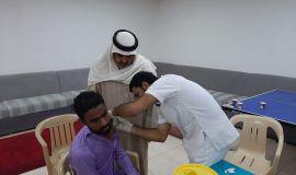 نادي الصم يستقبل أولى مبادرات مستشفى مدينة العيون التطوعية