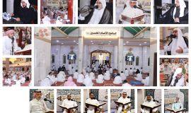 في ظل الاحترازات احيى المؤمنون ايام وليالي  شهر رمضان المبارك في جامع الامام الحسين بكل راحة وطمأنينة.