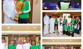 الخضراوي لاعب المنتخب والنادي الأهلي لكره الطاولة يجري تدريبات مكثفة بالمنزل للحفاظ على مستواه