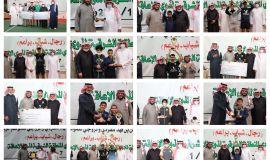 تتويج أبطال بطولة الأمير فيصل بن فهد للفردي والزوجي لكرة الطاولة و تكريم البطل الأولمبي علي الخضراوي