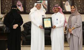 """""""المقبل"""" يستلم العضوية الشرفية من الجمعية السعودية للتربية الخاصة """" جستر """""""