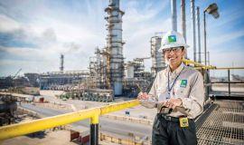 أرامكو السعودية تمكّن بنات الوطن في المساندة الهندسية لأعمال النفط